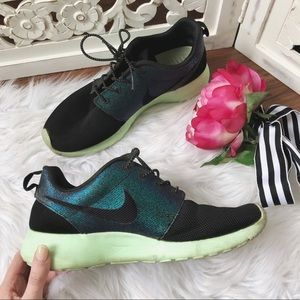 Nike Green Iridescent Sneakers